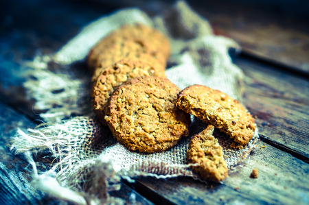 oatmeal: oatmeal cookies