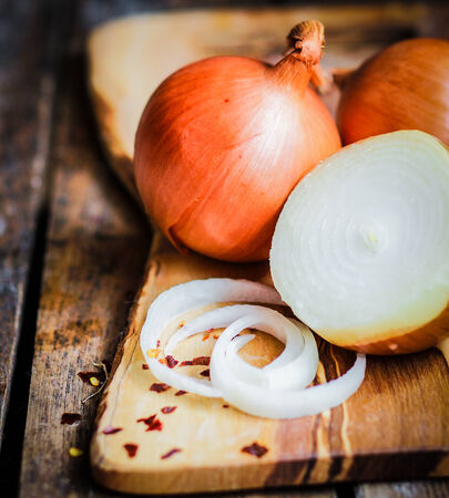 colorful onions photo