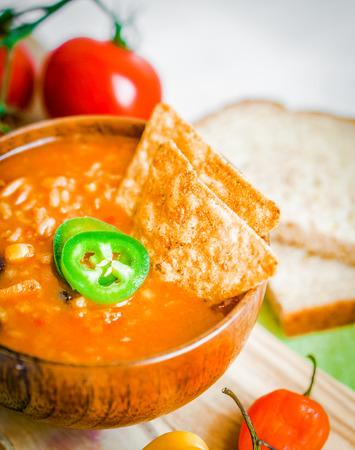 salsa soup photo