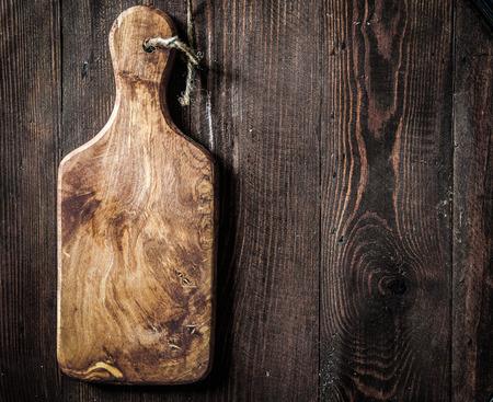 Planche à découper en bois Banque d'images - 28954940