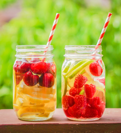 detox water cocktail photo