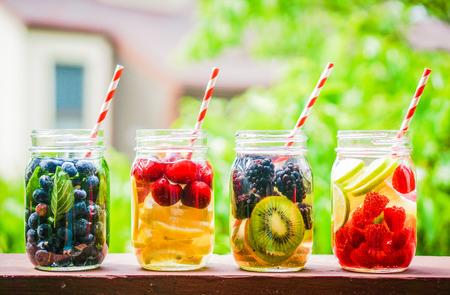 Detox-Wasser-Cocktail