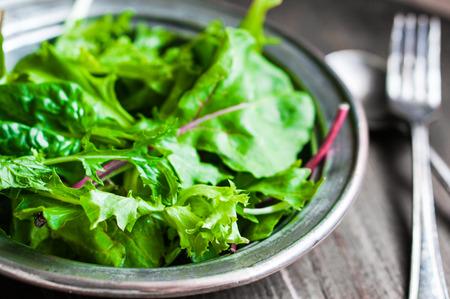 rocket lettuce: green salad