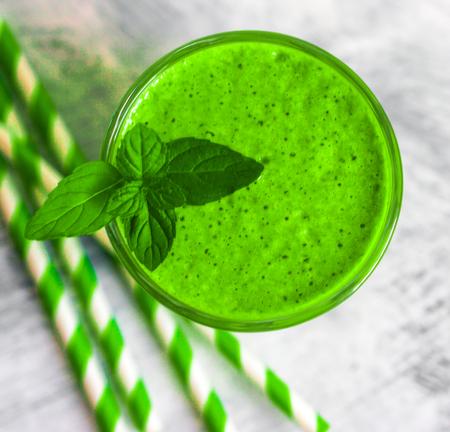 green smoothie Zdjęcie Seryjne