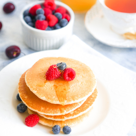 homemade pancakes photo