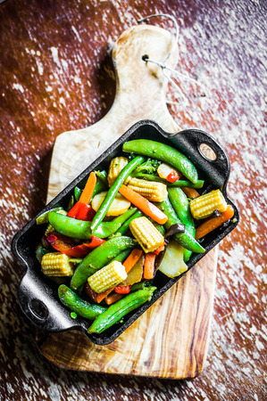 stir fry vegetables photo
