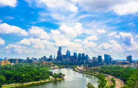 philadelphia view 스톡 콘텐츠