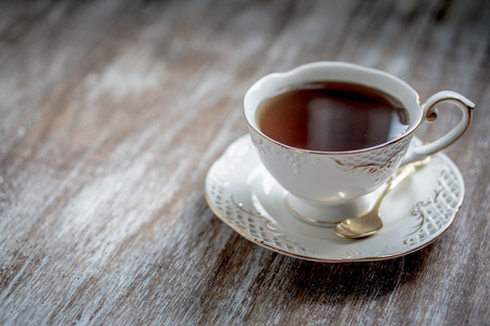 tea break: tea Stock Photo