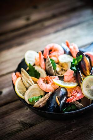 seafood: seafood Stock Photo