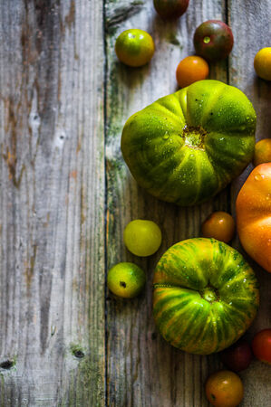 heirloom: heirloom tomatos