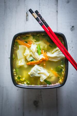 ton: soup
