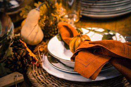テーブルの装飾 写真素材