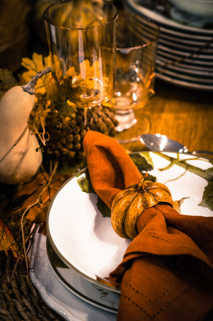 table decoration Stockfoto
