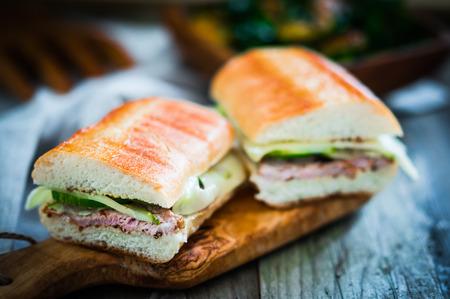 cuban: cuban sandwiches Stock Photo