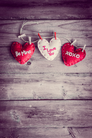 Valentines day ornaments photo