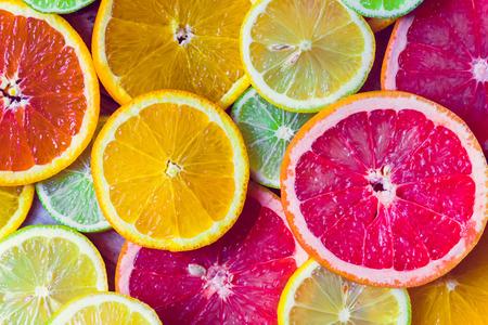 Sliced citrus Stock fotó