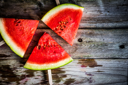sliced watermelon: Sliced watermelons