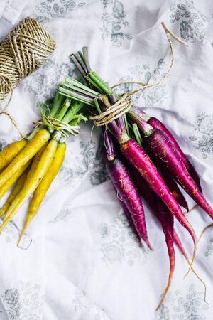 carrot: Zanahorias coloridas