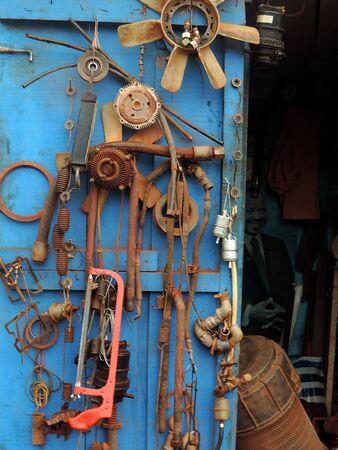 tool kit: Vintage tool kit in Cameroon