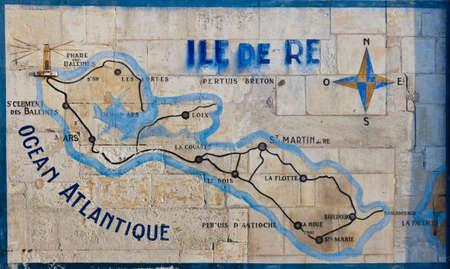 re: Map of Ile de R�