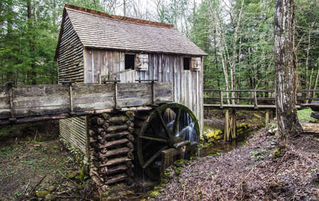 grist mill: Cable Grist Mill In Cades Cove. Historical grist mill in the Great Smoky Mountains National Park. Structure located on park lands and open to the public. This is not a private property.