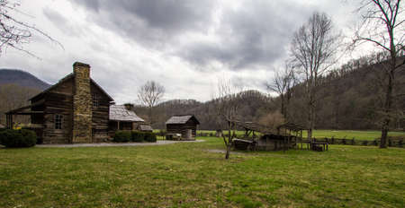 farm structure: Mountain Farm Museum. This is a historical structure located on public owned lands in a national park. It is not a privately owned property.