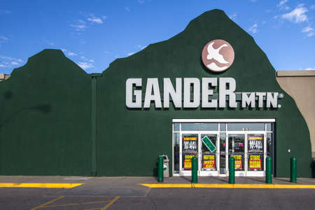 reportedly: Fort Gratiot, Michigan, USA - May 30, 2017: Gander Mountain is reportedly closing 32 of its 150 stores including the one located in Fort Gratiot, Michigan