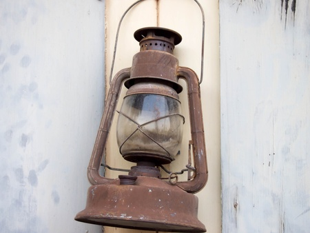 old fashioned: Old Fashioned Lantern Stock Photo