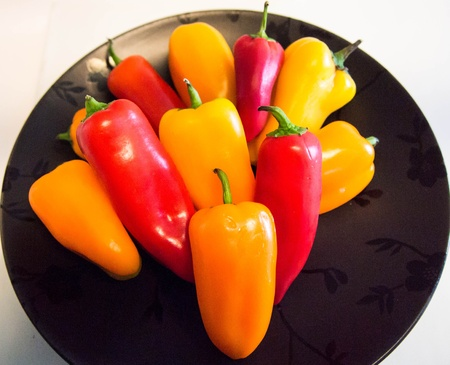 bell peppers: Crunchy Bell Peppers
