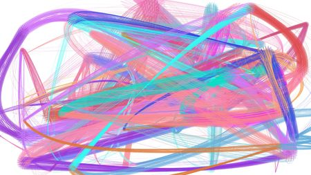 painted chaos strokes with pastel violet, medium turquoise and lavender colors. can be used as wallpaper, poster or background for social media illustration. Stok Fotoğraf