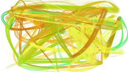 artistic golden rod, beige and khaki color brush strokes. abstract painting can be used as wallpaper, poster or background for social media illustration.