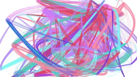 painted chaos strokes with pastel violet, steel blue and mulberry  colors. can be used as wallpaper, poster or background for social media illustration.