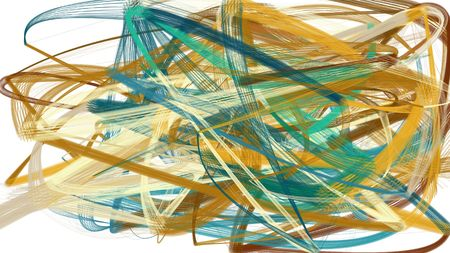 artistic dark khaki, teal blue and tan color brush strokes. abstract painting can be used as wallpaper, poster or background for social media illustration.