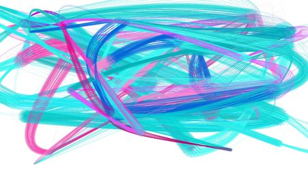 pennellate artistiche di colore turchese medio, prugna e turchese. la pittura astratta può essere utilizzata come sfondo, poster o sfondo per l'illustrazione dei social media.