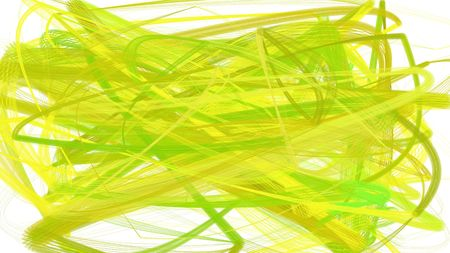 painted green yellow, light golden rod yellow and khaki color chaos strokes. can be used as wallpaper, poster or background for social media illustration.