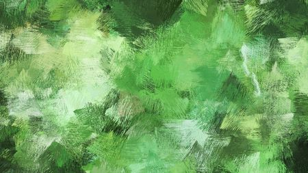 broad brush strokes of moderate green, very dark green and tea green color paint. can be used for wallpaper, cards, poster or creative fasion design elements.