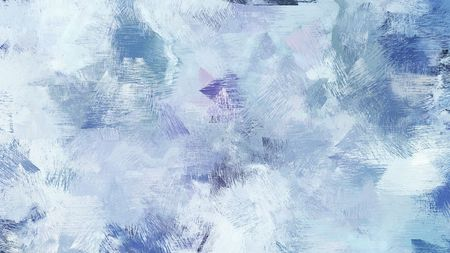painting with brush strokes and light blue, teal blue and light slate gray colors. can be used for wallpaper, cards, poster or creative fasion design elements. Foto de archivo
