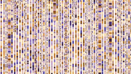 mosaic silver, pastel purple and sienna colored squares. simple seamless pattern illustration for plaid, postcard, wrapping paper, wallpaper, textiles fabric or fashion concept design. 写真素材