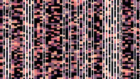 big and small mosaic squares dark salmon, black and old lavender colored. endless graphic pattern for fashion concept design, textiles fabric or digital printing products.
