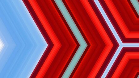 abstract red, light blue, maroon, light grey background. geometric arrow illustration for banner, digital printing, postcards or wallpaper concept design. Stok Fotoğraf