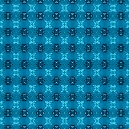 seamless graphics with dark cyan, medium turquoise and very dark blue colors. repeatable background for customized products like gifts, invitations, clothes, curtains or wallpaper.
