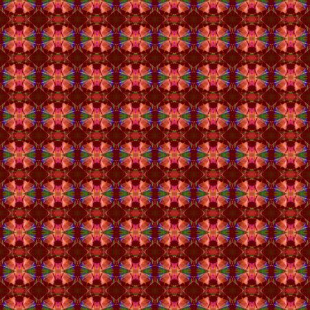 seamless graphics with maroon, indian red and dark slate blue colors. repeatable background for customized products like gifts, invitations, clothes, curtains or wallpaper. Archivio Fotografico