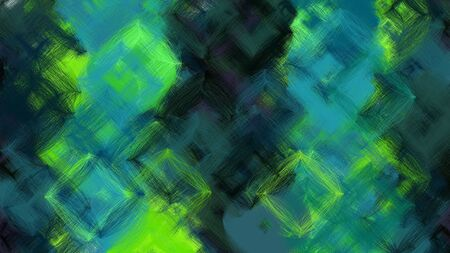 beautiful digital art with dark slate gray, very dark blue and moderate green colors. dynamic and colorful abstract artwork can be used as wallpaper, poster, canvas or background texture. Фото со стока