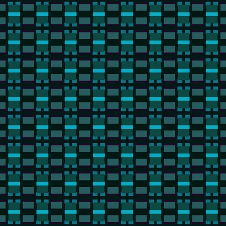 black, dark slate gray and light sea green repeating geometric shapes. can be used for tablecloth fashion design, textiles, wallpaper or as texture.