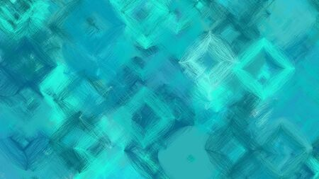 beautiful digital art with light sea green, turquoise and teal colors. dynamic and colorful abstract artwork can be used as wallpaper, poster, canvas or background texture. Фото со стока