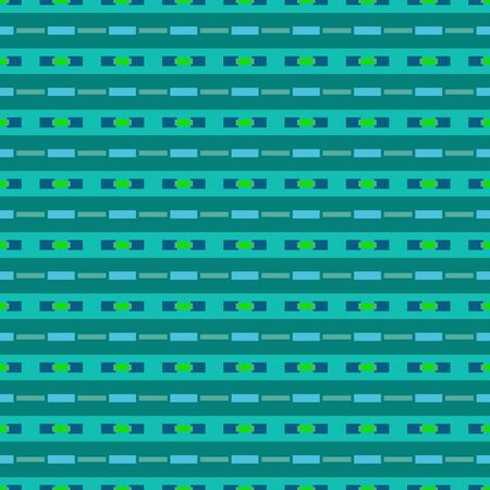 teal, light sea green and lime geometric repeating patterns. can be used for textiles, fashion design, wallpaper or as texture.