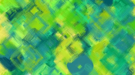 digital art abstract with medium sea green, green yellow and yellow green colors. colorful dynamic artwork can be used as wallpaper, poster, canvas or background texture.