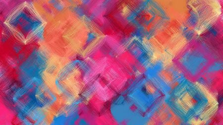 beautiful digital art with moderate pink, teal blue and burly wood colors. dynamic and colorful abstract artwork can be used as wallpaper, poster, canvas or background texture.