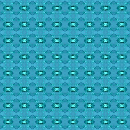 seamless graphics with light sea green, teal green and turquoise colors. repeatable background for customized products like gifts, invitations, clothes, curtains or wallpaper. Фото со стока