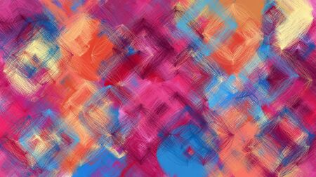 digital art abstract with moderate pink, steel blue and tan colors. colorful dynamic artwork can be used as wallpaper, poster, canvas or background texture.